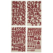 recollections alphabet stickers elegant letters
