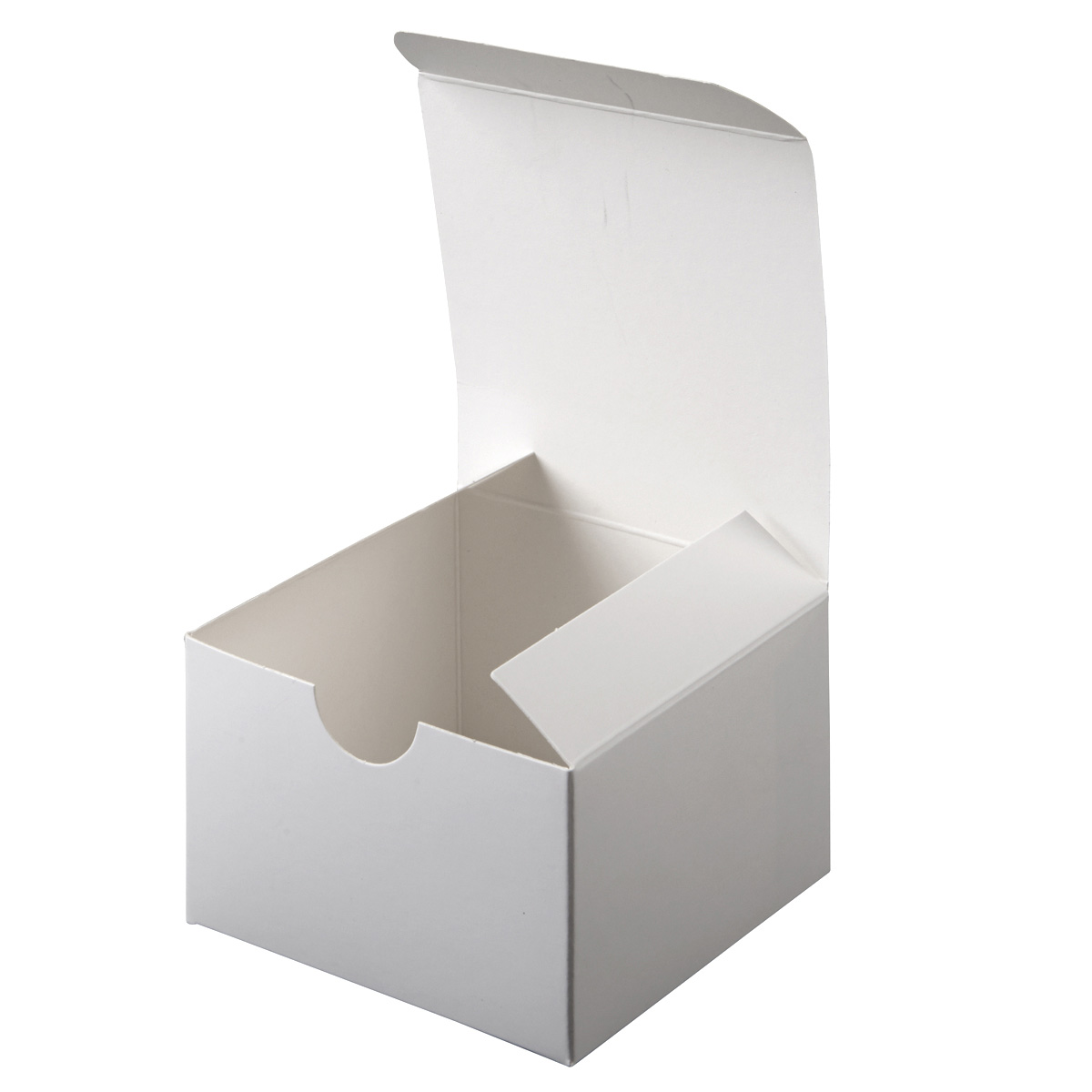 Michaels Brown Favor Boxes : Celebrate it gift box white