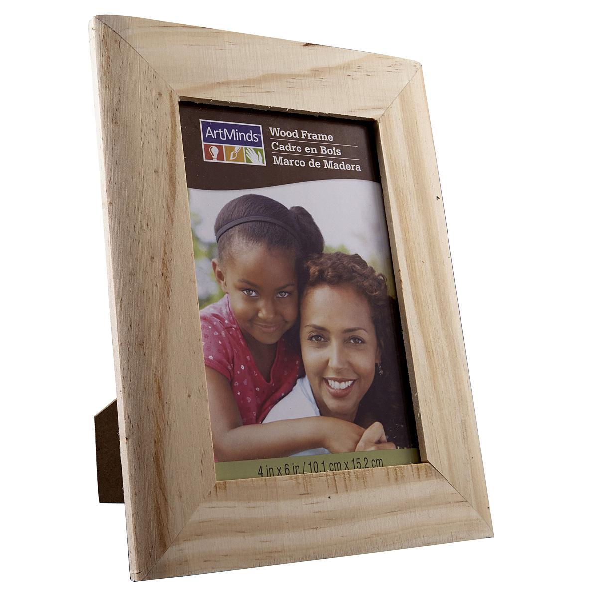ArtMinds Unfinished Wood Frame, ...