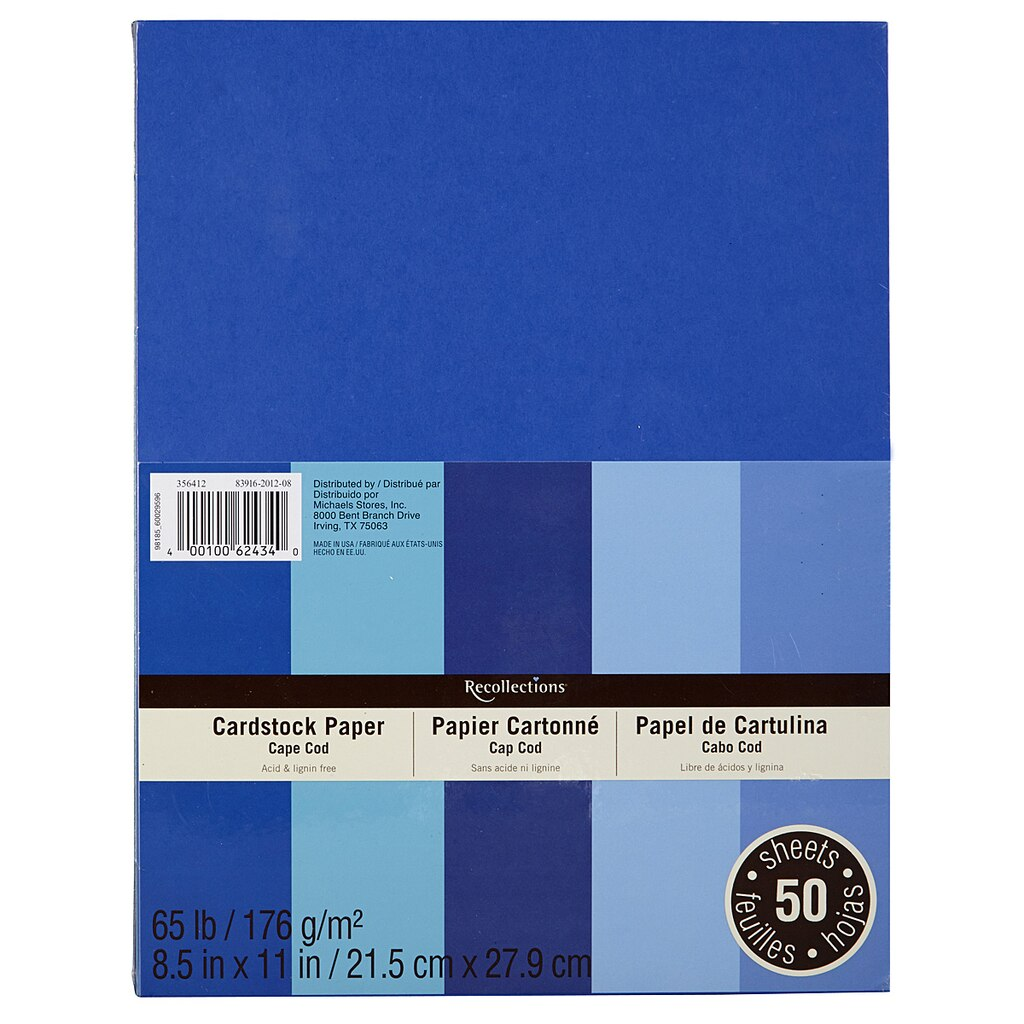 Flesh colored cardstock - Recollections Cape Cod Cardstock Paper