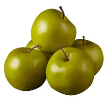 Ashland Garden Fresh Faux Fruit Bag of Green Apples