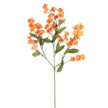 "Ashland Baby's Breath Double Ruffle Spray, 18"" Orange"