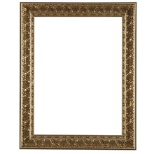 studio dcor antique champagne open back frame