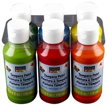 ArtMinds Tempera Paint, 6-Pack, Tropical Colors