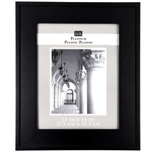 "Studio Décor Platinum Collection Frame, Black 11"" x 14"""