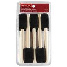 "Craft Smart 1"" Value Foam Brush Set, 20 Piece"