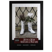 "Studio Décor Home Collection Classic Frame, Black 20"" x 30"""