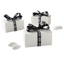 Celebrate It Occasions Favor Box Kit, Ivory