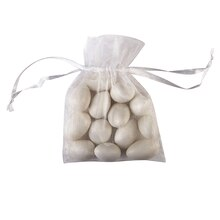 Celebrate It Occasions Organza Bags, White