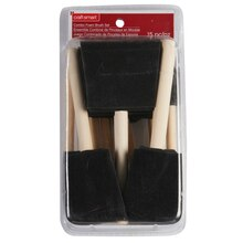 Craftsmart Foam Brush Value Set, 15 Piece
