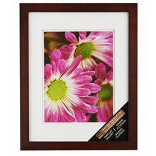 "Walnut Gallery Wall Frame with Double Mat by Studio Décor, 10"" x 13"""