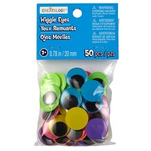 Creatology Neon Wiggle Eyes, 20 mm