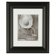 """Studio Décor Hang Your Own Gallery Black Frame with Mat, 8"""" x 10"""""""