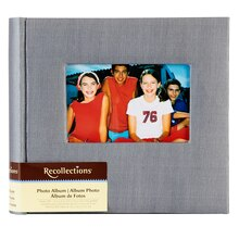 Recollections Photo Album, Gray Faille, 2 Pocket