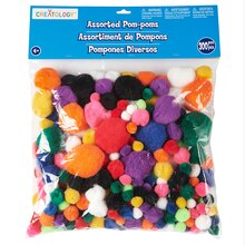 Creatology Pom Poms, Bold Mix