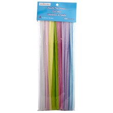Creatology Chenille Stems, Multicolored Value Pack Pastel Mix