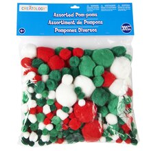 Creatology Pom Poms, Christmas Mix