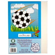 "Creatology Construction Paper 9"" x 12"" White"