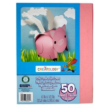 "Creatology Construction Paper 9"" x 12"" Pink"