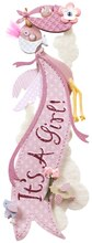 Jolee's Boutique Dimensional Sticker, It's a Girl Banner