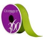 "Celebrate It 360 Grosgrain Ribbon, 7/8"", Green"