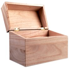 ArtMinds Wooden Recipe Box