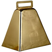 Creatology Cowbell, Silver Gold