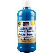 ArtMinds Tempera Paint, Tropical Cyan Blue