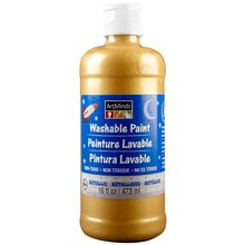 ArtMinds Washable Tempera Metallic Paint, Gold