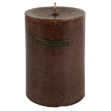 Brown Vanilla Mottled Pillar Candle by Ashland® Decor Scents™, medium