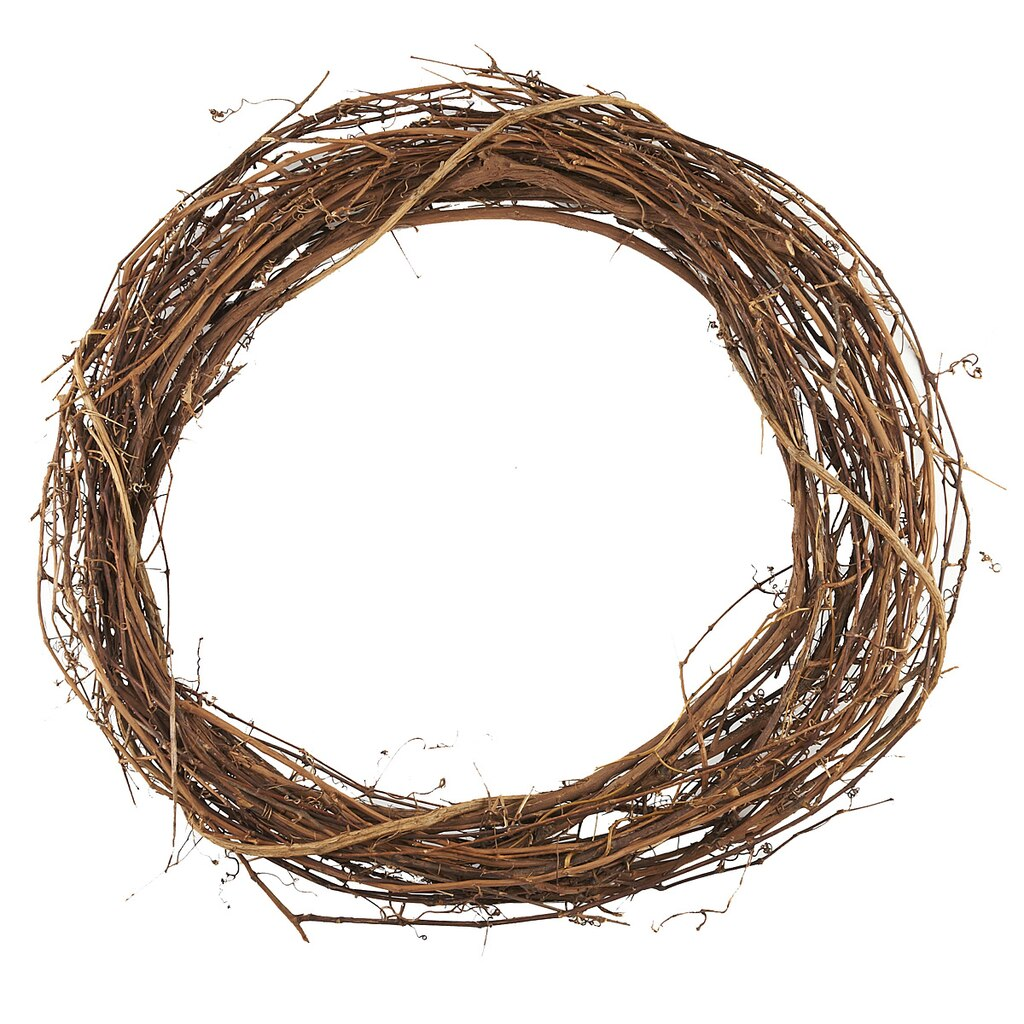 Grapevine Wreath For Crafting
