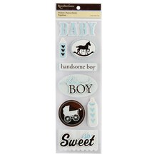 Recollection Dimensional Stickers, Baby Boy