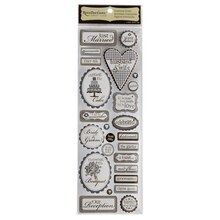 Recollections Signature Dimensional Stickers, Reception Verbiage