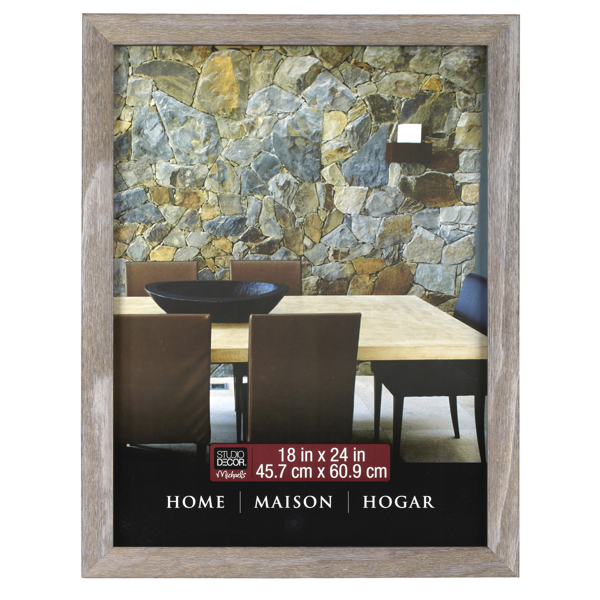 Wall Art Decor Michaels : Studio d?cor? home collection barnwood frame