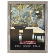 "Studio Décor Home Collection Barnwood Frame, 18"" x 24"""