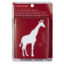 Craft Smart Stencils, Animals