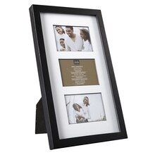 "Studio Décor Simply Essentials 3-Opening Collage Frame, 2.5"" x 3.5"""
