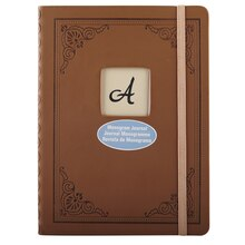 Artist's Loft Monogram Journal, Brown
