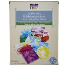 ArtMinds Soap-Making Kit, Tie-Dye Soap Bars