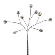 Celebrate It Occasions Branch Pick, Silver Beads