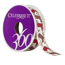Celebrate It 360 Twill Ribbon, Cowboy Boots
