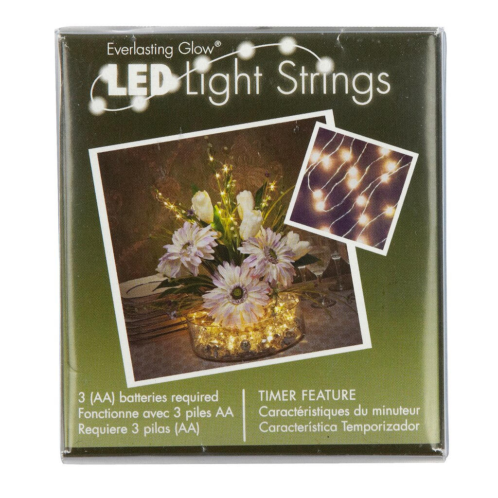 Battery Powered String Lights Michaels : Light String by Ashland Everlasting Glow , 36