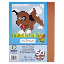 "Creatology Construction Paper 9"" x 12"" Brown"