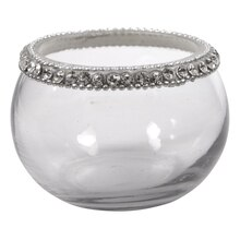 Ashland Jeweled Glass Votive Holder