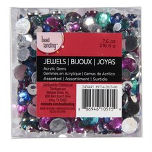 Bead Landing Acrylic Gems, Assorted