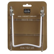 """Studio Décor Folding Easel With Clear Base, 4"""""""