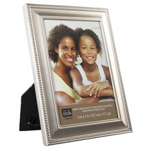 "Studio Décor Simply Essentials Pewter Frame With Beading Detail, 5"" x 7"""