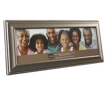 "Studio Décor Simply Essentials Pewter Frame With Beading Detail, 10"" x 3.5"""