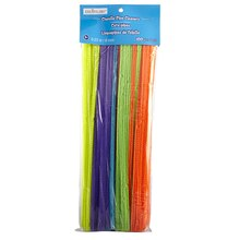 Creatology Chenille Stems, Assorted Neon