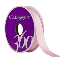 "Celebrate It 360° Satin Ribbon, 5/8"" Pink"